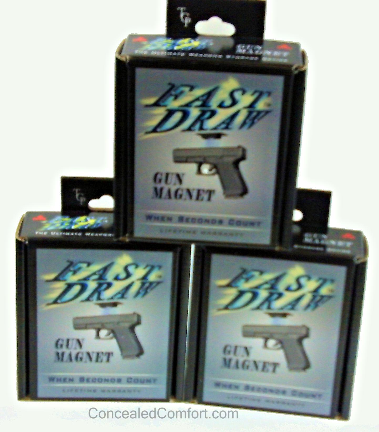 Fast Draw Gun Magnets available at ConcealedComfort.com