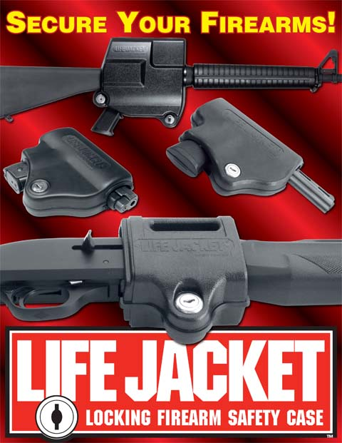 Life Jacket Gun Safety Systems