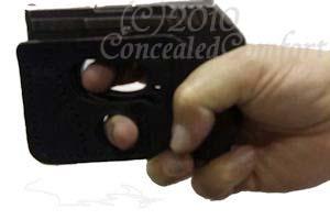 PocketPal 380 extended grip holster