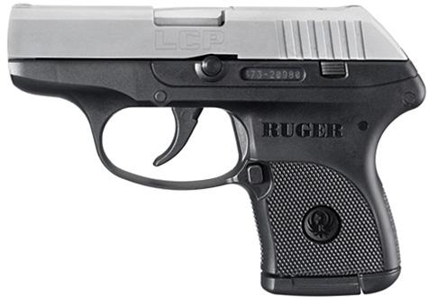 Ruger LCP .380 caliber handgun